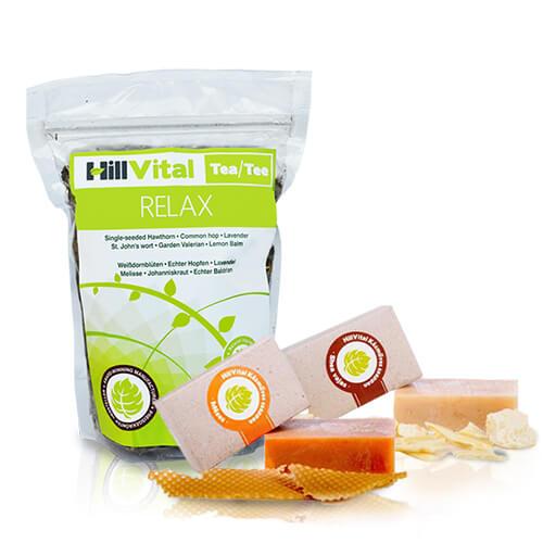 hillvital-produkty-relaxacny-balicek-medov-mydlo-bambucke-maslo-caj-relax